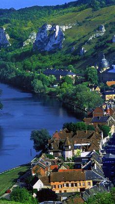 Les-Andelys-Haute-Normandie-France