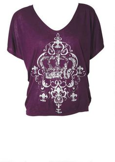 Crown Tee #crowntee #graphictee #alloy #alloyapparel http://www.alloyapparel.com/product/crown+tee+176114.do?sortby=ourPicks