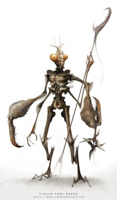 Wild Creatures, Fantasy Creatures, Mythical Creatures, Fantasy Races, High Fantasy, Fantasy Art, Aliens, Dark Sun, Zbrush
