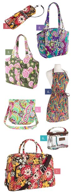 I love #7 and #4 Beautiful. I purchased a small make-bag in #7. Top pinned styles