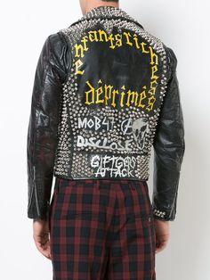 bc2de5b2a Enfants Riches Déprimés Studded Biker Jacket - Farfetch