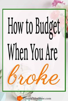 A prioritized budget saves the day when you don't make enough money to pay the bills. Click through to see how ...| Cook With a Shoe | budget |  budget tips | low income budget | free budget printable |