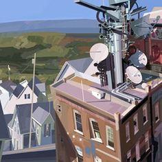 Artes de Alberto Mielgo para a Cartoon Network