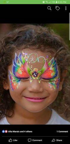 Die 247 Besten Bilder Von Kinderschminken