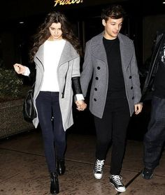 Cute couples wear: perfect outfits for a winter night.