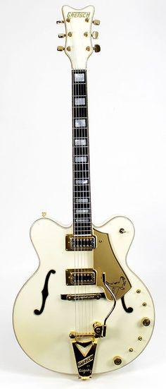 Vintage 1979 GRETSCH 7595 Stereo White Falcon Electric Guitar | Reverb http://www.guitarandmusicinstitute.com