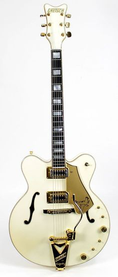 Vintage 1979 GRETSCH 7595 Stereo White Falcon Electric Guitar