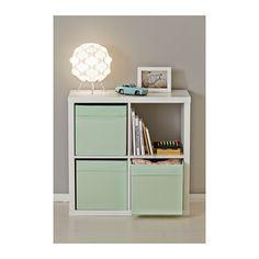 DRÖNA Caja IKEA La caja se puede manipular fácilmente gracias a las asas. Ideal para guardar de todo, desde periódicos hasta ropa.