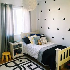 35 Amazingly Pretty Shabby Chic Bedroom Design and Decor Ideas - The Trending House Boy Toddler Bedroom, Boys Bedroom Decor, Baby Room Decor, Toddler Boy Room Ideas, Little Boy Bedroom Ideas, Teen Bedroom, Dreams Beds, Design Furniture, Kid Furniture