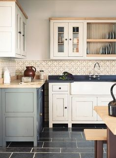 Free standing kitchen units have more benefit to use. You can configure them based on your kitchen space. You do not need to buy the whole unit of t. Free Standing Kitchen Cabinets, Kitchen Pantry Cabinets, Red Kitchen, Kitchen Cabinet Design, Wooden Kitchen, Kitchen Ideas, Kitchen Decor, Kitchen Modular, Kitchen Inspiration