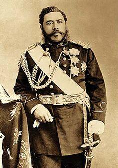 "King David Kalakaua..the ""Merrie Monarch"".  He restored Hawaiian tradition and hula after years of repression :)"