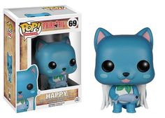 Funko pop Official Anime: Fairy Tail - Happy Vinyl Action Figure Collectible Model Toy with Original Box
