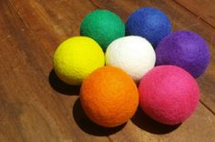 Wool Dryer Balls, save cost on laundry times and soften laundry too!