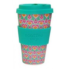 Ecoffee Cup To go Becher Bambus Itchykoo Herzen #ecoffeecup #bambusbecher #bambustogo #bamboocup #gingerundjune
