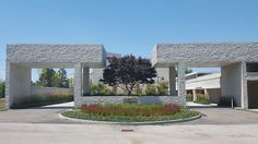 B`nai Jeshurun Linden Courtyard | Pepper Pike, USA | Cawrse & Associates #landscapearchitecture #ohio #menorah