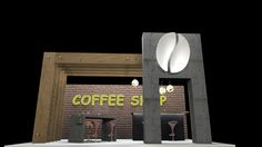 Coffee Shop stand - 2016
