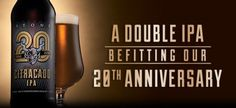 Stone 20th Anniversary Citracado (Double) IPA celebrates two decades of beers