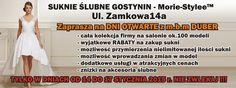 Suknie ślubne Gostynin - Zapraszamy już od 14 stycznia