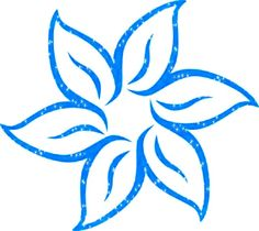Vector materialchild trainingcartoon flowerssmiling facespring blue flower glitter mightylinksfo