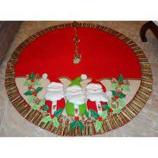 Resultado de imagen para pies de arbol navideños Garland Hanger, Christmas Holidays, Christmas Wreaths, Xmas Tree Skirts, Xmas Decorations, Table Runners, Patches, Holiday Decor, Crafts