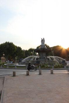 Aix-en-Provence Fontaine de la Rotonde