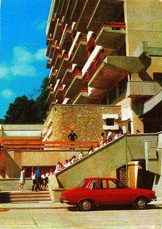 Concrete Architecture, Moldova, Bucharest, Eastern Europe, Postcards, Countries, Cities, Classic Cars, Nostalgia