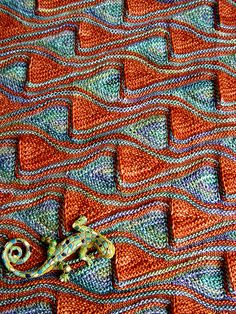 Snood Barcelona pattern by Svetlana Gordon   malabrigo mechita in Indiecita and Dried Orange.
