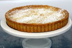 """Whole Lemon Tart (Smitten Kitchen). """"This is such a great one to have in your files because it doesn't demand a lot of your grocery list: just one whole lemon. That right, peel, pith and all. Lemon Desserts, Just Desserts, Delicious Desserts, Tart Recipes, Sweet Recipes, Pie Dessert, Dessert Recipes, Dessert Sauces, Dessert Ideas"""