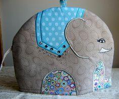 Small Elephant Tea Cosy/Cozy Pattern | Craftsy