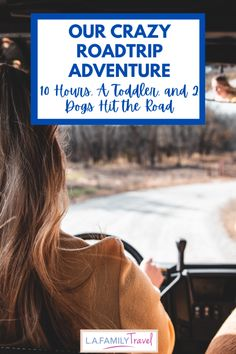 Our Crazy Road Trip Adventure: 10 Hours, An SUV, A Toddler and 2 Dogs - LA Family Travel Usa Travel Guide, Travel Usa, Budget Travel, Travel Guides, Travel Tips, Road Trip Adventure, Family Adventure, Family Road Trips, Family Travel