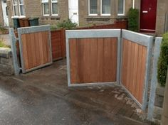 Greenscape Edinburgh, Fences, gates and wooden compost bins - Fe
