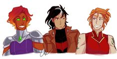 Heyyy let's pretend i didn't just drop off the face of earth for a week and please accept this genderbend offering Nightwing, Batgirl, Redhood And The Outlaws, Young Justice Comic, Batfamily Funny, One Piece Episodes, New Titan, Robin Dc, Best Hero