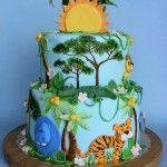 Bolos decorado selva- Fotos e dicas de decoração