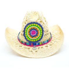 Sombrero Cowboy Paja Manipur