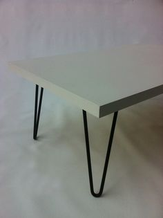 //living// Mid Century Modern Coffee Table White by studio1212furniture