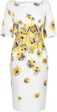 LK Bennett Lasana Printed Dress