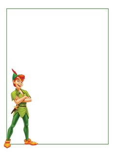 "Peter Pan - standing - Project Life Journal Card - Scrapbooking ~~~~~~~~~ Size: 3x4"" @ 300 dpi. This card is **Personal use only - NOT for sale/resale** Logo/clipart belongs to Disney. *** Click through to photobucket for more versions of this card ***"