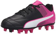 PUMA Adreno II Fg Jr Soccer Shoe (Little Kid/Big Kid) * To view further for this item, visit the image link.