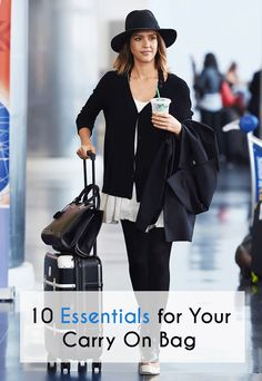 10 Essentials for Your Carry On Bag