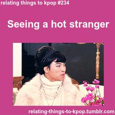 Relating Moments To Kpop