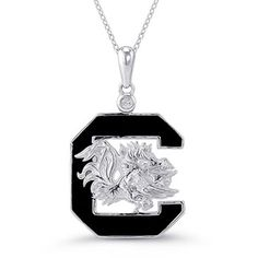 BAS Oakland Raiders Round Locket Charm Necklace 20 inch Alloy Chain