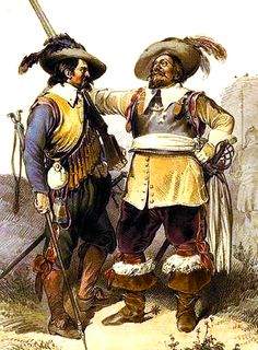 """Austrian musketeer and officer"""