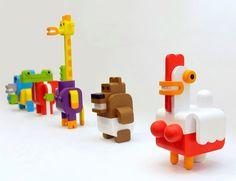 Animais minimalistas