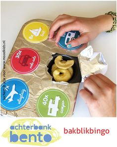 Bento for traveling with kids www.moodkids.com BakblikBingo - Moodkids