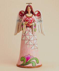 Another great find on #zulily! Angel & Heart Figurine #zulilyfinds