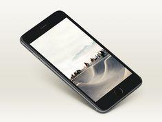 Free Awesome iPhone 6+ Mockup by Shakuro