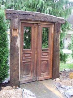 Garten Gestaltung, Fachwerk bau, Recycled Holz: landhausstil Garten von Chippie