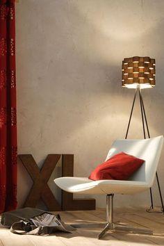 Des murs avec une peinture à la chaux teinte argile pour un effet lumineux