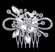 Wholesale Bridal tiara from Cheap Bridal tiara Lots, Buy from Reliable Bridal tiara Wholesalers. Leaf Flowers, Flowers In Hair, Flower Hair, Heart Flower, Bridal Hair Pins, Bridal Tiara, Hair Jewelry, Bridal Jewelry, Fashion Jewelry