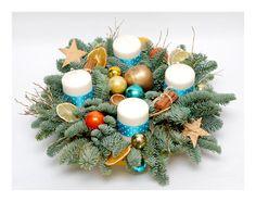 Christmas in turqoise Christmas Time, Christmas Wreaths, Christmas Swags, Holiday Burlap Wreath, Christmas Garlands